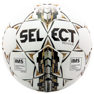 Select Royale Soccer Ball - White/Black