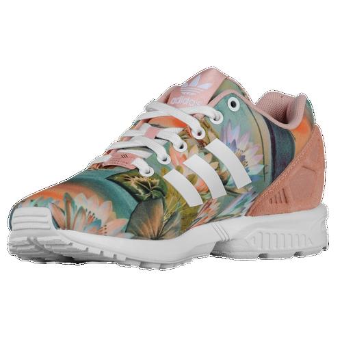 a42bb12a497d2 adidas Originals ZX Flux - Women s - Running - Shoes - Dusty  Pink White Dusty Pink