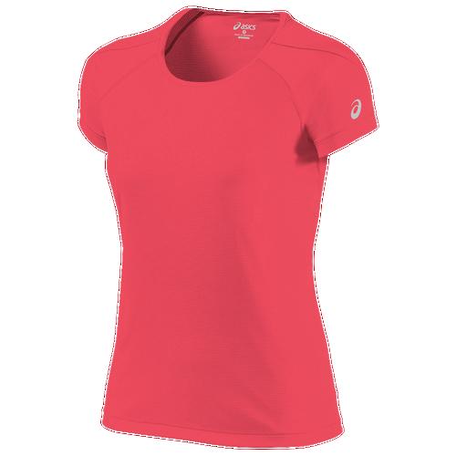 ASICS? Core Short Sleeve Top - Women's Running - Diva Pink 25690688