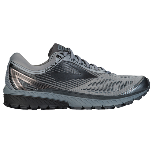 b2365a9587b Brooks Ghost 10 - Men s - Running - Shoes - Primer Grey Metallic Charcoal  Ebony
