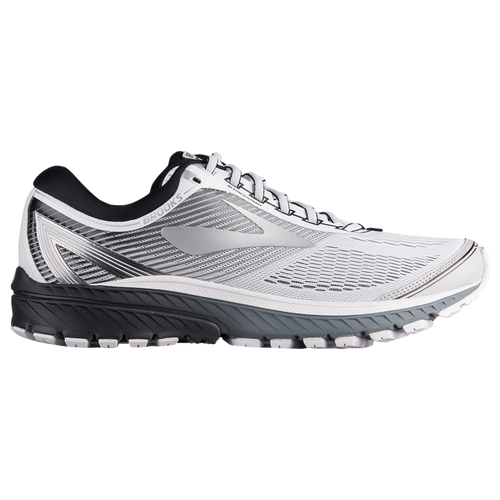 79421364f9a Brooks Ghost 10 - Men s - Running - Shoes - White Silver Black