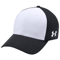 Under Armour Team Color Blocked Airvent Cap - Men's - Black / White