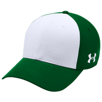 Under Armour Team Color Blocked Airvent Cap - Men's - Green / White