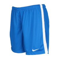 Nike Team League Knit Shorts - Women's - Light Blue / White