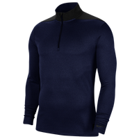 Nike Dri-Fit Core 1/2 Zip Golf Top - Men's - Navy