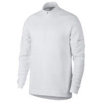 Nike Therma Repel 1/2 Zip Golf Top - Men's - White / Silver