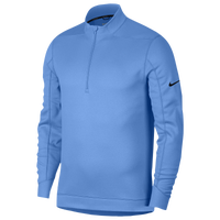 Nike Therma Repel 1/2 Zip Golf Top - Men's - Light Blue / Black
