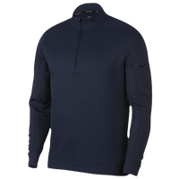Nike Therma Repel 1/2 Zip Golf Top - Men's - Navy / Black