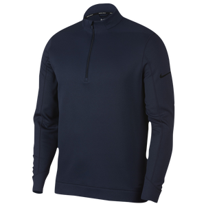 Nike Therma Repel 1/2 Zip Golf Top - Men's - College Navy/Black