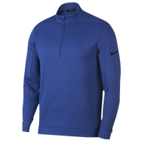 Nike Therma Repel 1/2 Zip Golf Top - Men's - Blue / Black