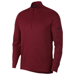 Nike Therma Repel 1/2 Zip Golf Top - Men's - Team Crimson/Black