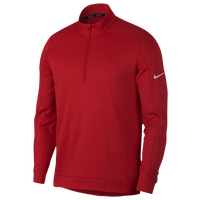 Nike Therma Repel 1/2 Zip Golf Top - Men's - Red / Silver