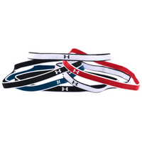 Under Armour W Mini Headbands 6-Pack - Women's - Red / Black