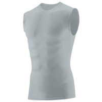 Augusta Sportswear Hyperform Compression Sleeveless Shirt - Men's - Silver