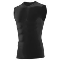 Augusta Sportswear Hyperform Compression Sleeveless Shirt - Boys' Grade School - Black