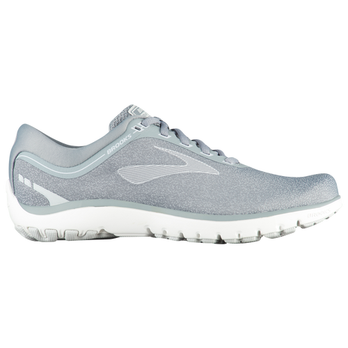 6e244555cafcf Brooks PureFlow 7 - Women s - Running - Shoes - Grey Microchip White