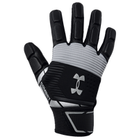 Under Armour Combat V Full Finger Lineman Gloves - Men's - Black