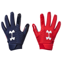 Under Armour Spotlight LE NFL Receiver Glove - Men's - Navy / Red