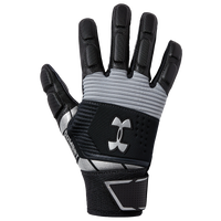 Under Armour Combat V Full Finger Lineman Gloves - Boys' Grade School - Black