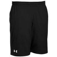 Under Armour Team Pocketed Raid Shorts - Boys' Grade School - Black / White
