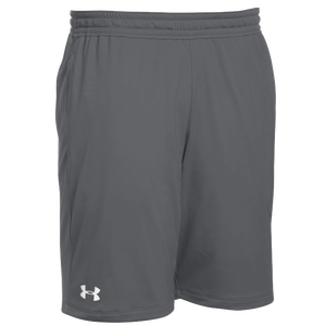 Under Armour Team Pocketed Raid Shorts - Boys' Grade School - Graphite/White