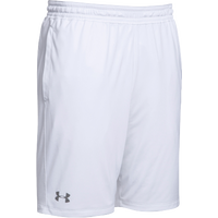 Under Armour Team Pocketed Raid Shorts - Boys' Grade School - White / Grey