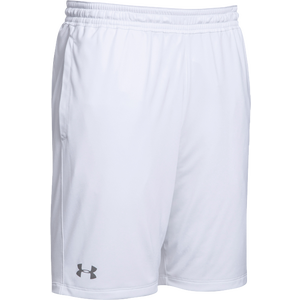 Under Armour Team Pocketed Raid Shorts - Boys' Grade School - White/Graphite