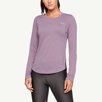 Under Armour Streaker 2.0 Long Sleeve - Women's - Purple