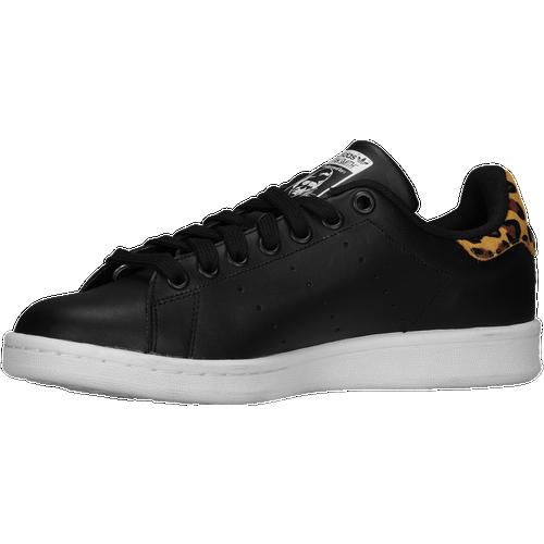 26591 Womens adidas Originals Stan Smith Black/Black/White