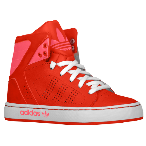 adidas Originals Adi High EXT - Boys' Preschool - Basketball - Shoes - Vivid  Red/Vivid Pink/White