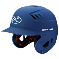 Rawlings Coolflo R16 Senior Batting Helmet - Men's - Blue / White