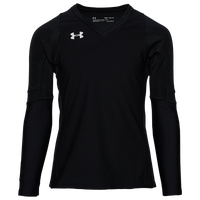Under Armour Team Powerhouse L/S Jersey - Girls' Grade School - Black