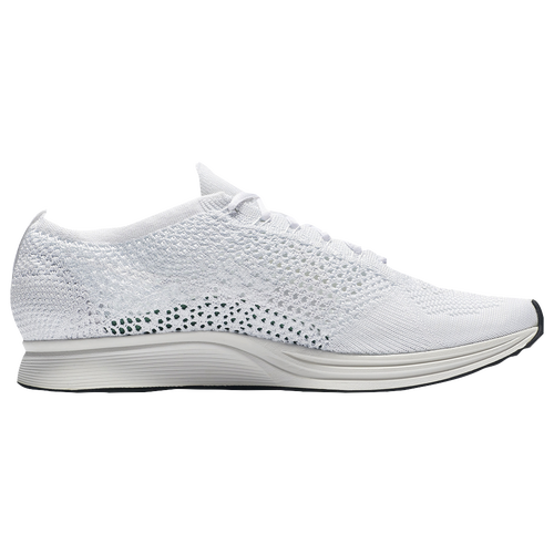 Nike Flyknit Racer - Men's - Running - Shoes - White/White/Sail/Pure ...