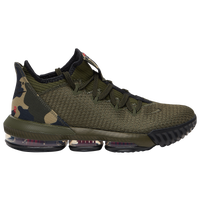 Nike LeBron 16 Low - Men's -  Lebron James - Olive Green