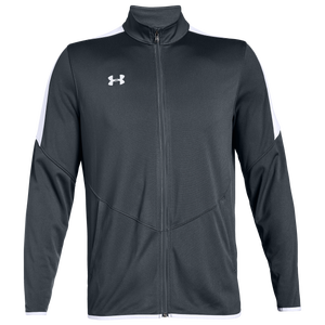Under Armour Team Team Rival Knit Warm-Up Jacket - Men's - Steel Grey/White