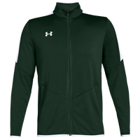 Under Armour Team Team Rival Knit Warm-Up Jacket - Men's - Dark Green