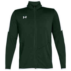 Under Armour Team Team Rival Knit Warm-Up Jacket - Men's - Green/White