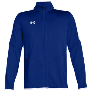 Under Armour Team Team Rival Knit Warm-Up Jacket - Men's - Royal/White