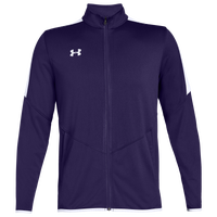 Under Armour Team Team Rival Knit Warm-Up Jacket - Men's - Purple