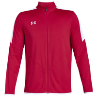 Under Armour Team Team Rival Knit Warm-Up Jacket - Men's - Red