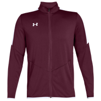 Under Armour Team Team Rival Knit Warm-Up Jacket - Men's - Maroon