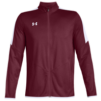 Under Armour Team Team Rival Knit Warm-Up Jacket - Men's - Cardinal
