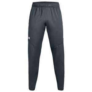 Under Armour Team Team Rival Knit Warm-Up Pants - Men's - Steel Grey/White