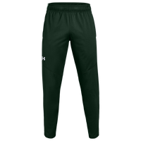 Under Armour Team Team Rival Knit Warm-Up Pants - Men's - Dark Green