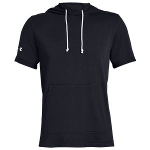 Under Armour Team Sportstyle Stadium Hoodie - Men's - Black/White