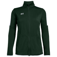 Under Armour Team Team Rival Knit Warm-Up Jacket - Women's - Dark Green