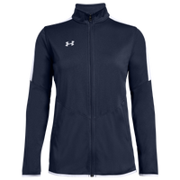 Under Armour Team Team Rival Knit Warm-Up Jacket - Women's - Navy