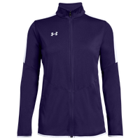 Under Armour Team Team Rival Knit Warm-Up Jacket - Women's - Purple