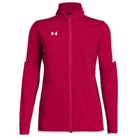 Under Armour Team Team Rival Knit Warm-Up Jacket - Women's - Red