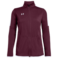 Under Armour Team Team Rival Knit Warm-Up Jacket - Women's - Maroon
